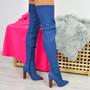 Charlize Denim Blue Otk Boots