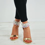 Regan Champagne Patent Stiletto Sandals