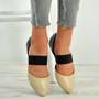 Britney Beige Pointy Ballerina Flats