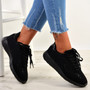 Susan Black Studded Trainers