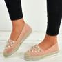 Lilia Pink Pearl Flats