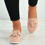 Eva Pink Fringe Ballerina