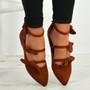 Amaris Brown / Rust Bow Ballerinas