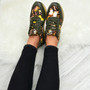 Alice Green Floral Trainers