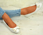 Joselyn White Pearl Ballerina
