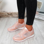 Rhaela Pink Glitter Trainers