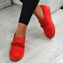 Adalynn Red Chain Trainers
