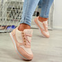 Emmale Pink Sneakers Trainers