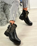 Amiya Black Studded Ankle Boots