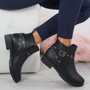 Meredith Black Ankle Boots