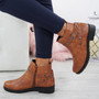 Meredith Camel Ankle Boots