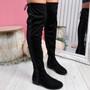 Mila Black Glitter Otk Boots