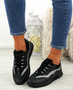 Frally Black Glitter Sneakers