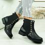 Oti Black Studded Chelsea Boots