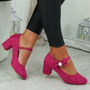 Wena Fuchsia Bow Pumps