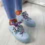 Brenda Blue Ribbon Plimsolls