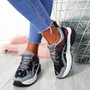 Logan Grey Lace Up Trainers
