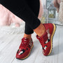 Nolla Red (Camouflage) Trainers