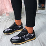 Nolla Black (Camouflage) Trainers