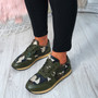 Nolla Olive (Camouflage) Trainers