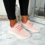 Huka Light Pink Running Trainers