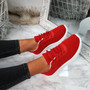 Lanyx Red Lace Up Trainers