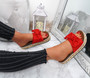 Cannya Red Bow Flatforms