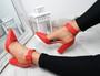 Cherra Red Block Heel Pumps