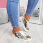 Veya Snake Lace Up Trainers
