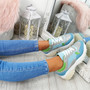 Fezy Blue Chunky Trainers