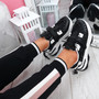 Benny Black Chunky Sole Trainers