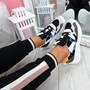 Sima Black Chunky Sneakers
