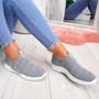 Hegy Grey Slip On Trainers