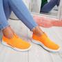 Hegy Orange Slip On Trainers