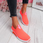 Kimmy Fuchsia Slip On Trainers