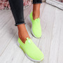 Kimmy Green Slip On Trainers