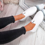 Kimmy White Slip On Trainers