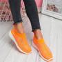 Zippy Orange Studded Sock Trainers