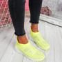 Zippy Yellow Studded Sock Trainers