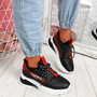 Jolle Black Chunky Sneakers