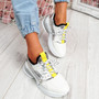 Jolle White Chunky Sneakers