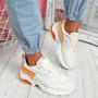 Wenny Beige Chunky Sneakers