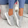 Evy Grey Knit Trainers