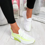 Nova Fluorescence Lace Up Knit Trainers