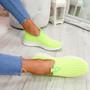 Diffa Green Knit Trainers