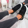 Deppa Black Lace Up Sport Trainers