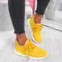 Deppa Yellow Lace Up Sport Trainers