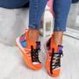 Ovo Orange Sock Sneakers