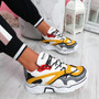 Elya Yellow Chunky Sneakers