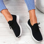 Senny Black Lace Up Trainers